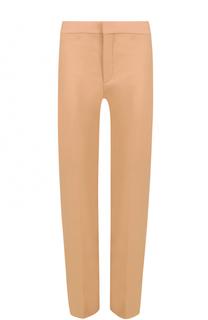 Укороченные брюки прямого кроя Chloé