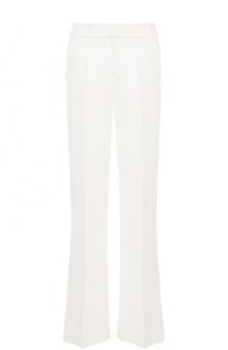 Расклешенные брюки с карманами и стрелками Oscar de la Renta