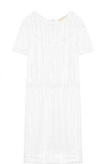 Кружевное приталенное мини-платье MICHAEL Michael Kors