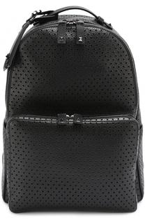 Кожаный рюкзак с перфорацией Valentino
