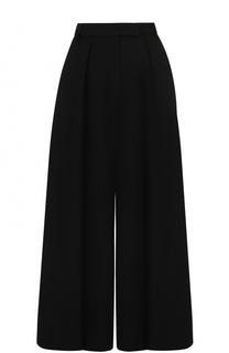 Укороченные широкие брюки со складками Elie Saab