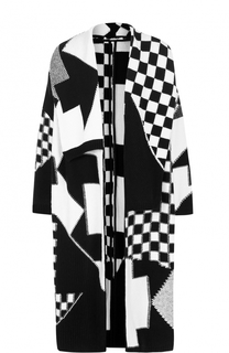 Вязаное пальто с широкими лацканами Stella McCartney