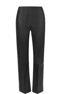 Укороченные кожаные брюки со стрелками By Malene Birger