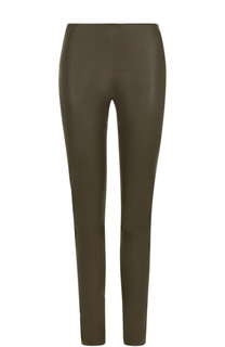 Кожаные брюки-скинни By Malene Birger