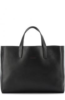 Кожаная сумка-шоппер Kiton