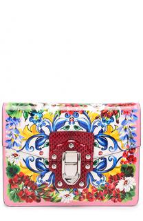 Сумка Lucia с принтом Dolce & Gabbana