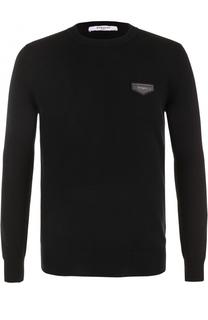 Кашемировый джемпер с логотипом бренда Givenchy