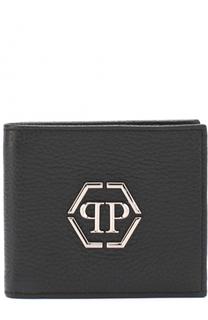 Кожаное портмоне с отделениями для кредитных карт Philipp Plein
