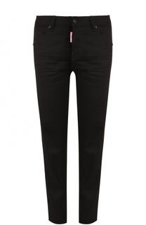 Однотонные укороченные джинсы прямого кроя Dsquared2