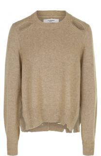 Пуловер с круглым вырезом и разрезами на рукавах Isabel Marant Etoile