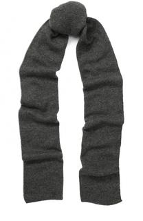 Кашемировый вязаный шарф Johnstons Of Elgin