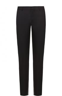 Шерстяные брюки прямого кроя с декоративной отделкой Alexander McQueen