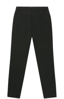 Шерстяные брюки прямого кроя Dsquared2