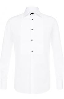 Хлопковая сорочка под смокинг Dsquared2
