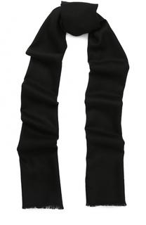Шерстяной шарф с необработанным краем Johnstons Of Elgin