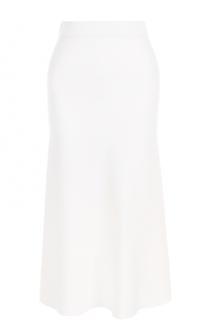 Вязаная юбка-миди с широким поясом MRZ