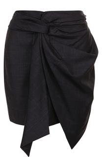 Шерстяная мини-юбка с бантом Isabel Marant Etoile