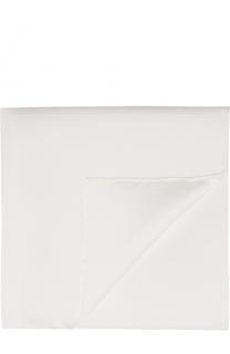 Шелковый однотонный платок Canali