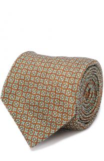 Кашемировый галстук с узором Kiton