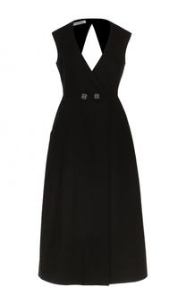 Приталенное платье-миди с открытой спиной Walk of Shame