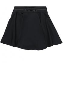 Мини-юбка с бантом и декоративной отделкой Aletta