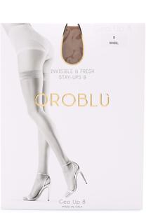 Капроновые чулки с гладкой отделкой Oroblu