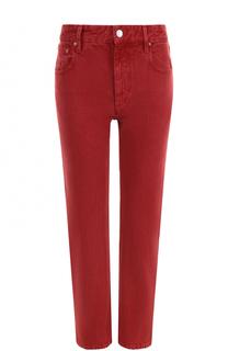 Укороченные однотонные джинсы прямого кроя Isabel Marant Etoile