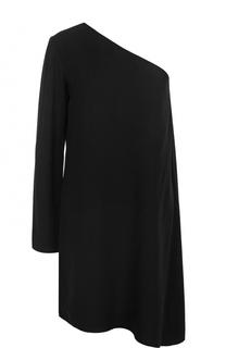 Мини-платье с открытым плечом и длинным рукавом Theory
