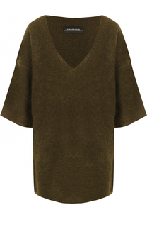 Пуловер свободного кроя с V-образным вырезом By Malene Birger