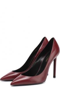 Кожаные туфли Anja на шпильке Saint Laurent