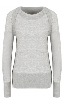 Кашемировый пуловер прямого кроя Burberry