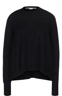 Пуловер свободного кроя с круглым вырезом Stella McCartney
