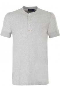 Хлопковая футболка хенли Polo Ralph Lauren