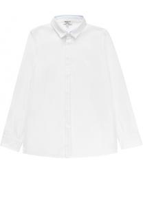 Хлопковая рубашка прямого кроя Aletta