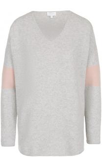 Пуловер прямого кроя с V-образным вырезом Escada Sport