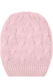 Кашемировая шапка фактурной вязки Cruciani