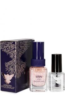Лак для ногтей Pink Snowflake + Bond-подготовка Christina Fitzgerald