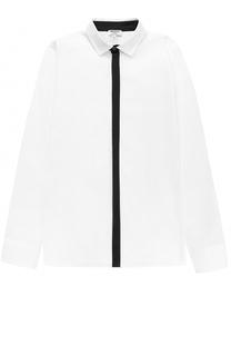 Рубашка прямого кроя с контрастной отделкой Aletta