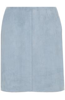 Замшевая мини-юбка Diane Von Furstenberg