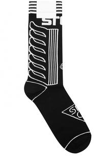 Хлопковые носки с принтом Stella McCartney