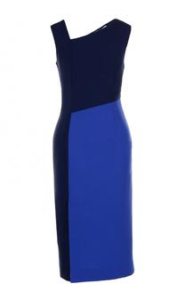 Приталенное платье-миди с разрезом Diane Von Furstenberg