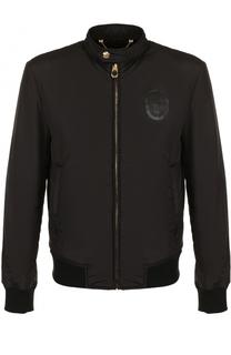 Куртка на молнии с воротником-стойкой Billionaire
