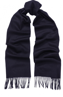 Вязаный шарф из кашемира с бахромой Johnstons Of Elgin