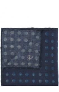Шерстяной платок с принтом Canali