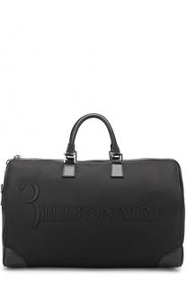 Текстильная дорожная сумка с плечевым ремнем Billionaire