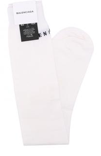 Шерстяные носки с логотипом бренда Balenciaga