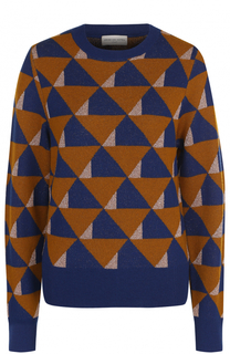 Пуловер прямого кроя с принтом Dries Van Noten