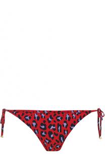 Плавки-бикини с леопардовым принтом Stella McCartney