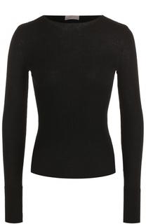 Пуловер фактурной вязки с круглым вырезом MRZ