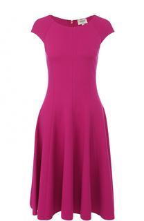 Приталенное платье-миди Armani Collezioni